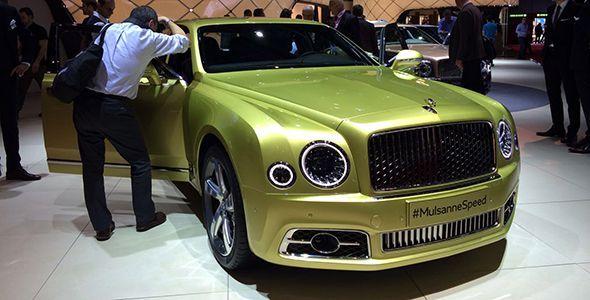 Nuevo Bentley Mulsanne en Ginebra 2016