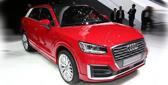 Audi Q2: el nuevo SUV alemán, desvelado en Ginebra