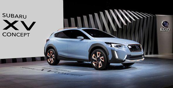 Subaru XV Concept, la marca adelanta las líneas de la próxima generación