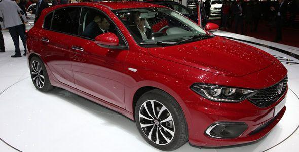Nuevos Fiat Tipo 5 puertas y Tipo Station Wagon en el Salón de Ginebra