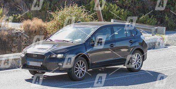 Fotos espía del futuro Subaru XV o Crosstrek