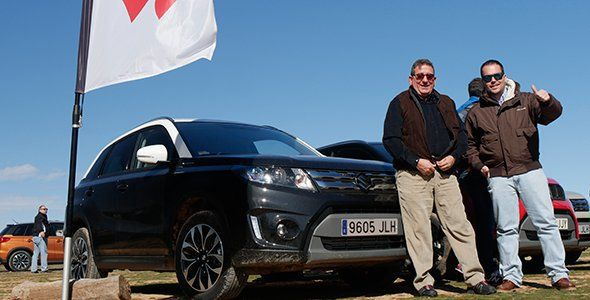 Los ganadores de Autocasion.com en la Suzuki 4×4 Experience