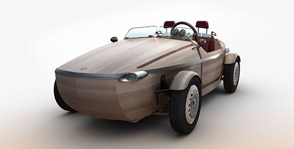 Toyota Setsuna, un prototipo de madera para la Semana del Diseño de Milán