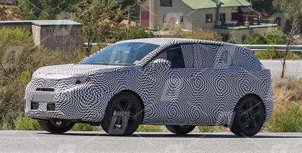 Fotos espía del nuevo Peugeot 3008 2017