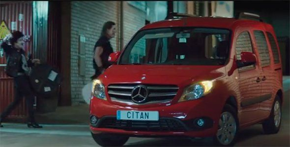 El anuncio made in Spain del Mercedes Citan Tourer
