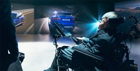 Stephen Hawking el genio villano de Jaguar