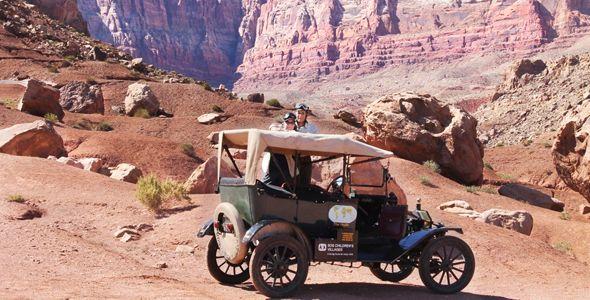 ¿Es posible recorrer el mundo en un Ford T de hace 100 años?