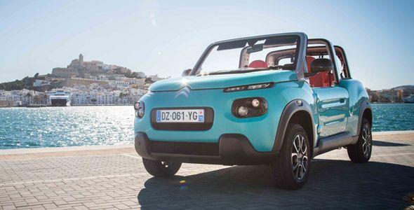 Solo se fabricaran 1.000 unidades del Citroën E-Mehari