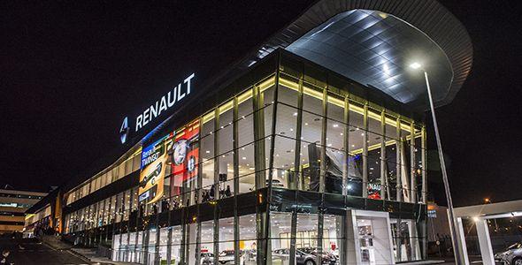 Renault inaugura su nuevo y espectacular concesionario en Madrid