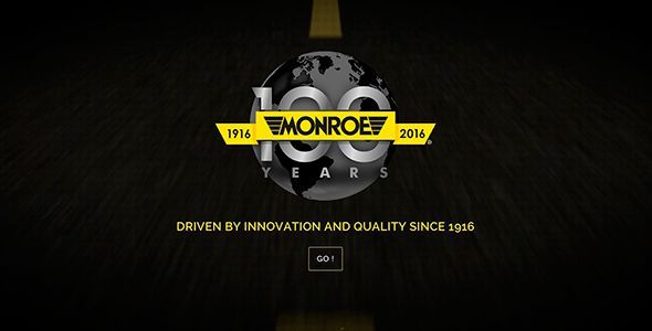 Amortiguadores Monroe celebra su centenario