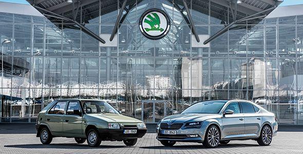 Skoda cumple 25 años dentro del Grupo VW