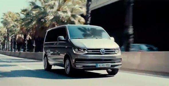 Nuevo vídeo del Volkswagen Caravelle