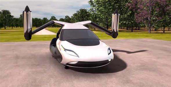 Terrafugia TF-X, el coche volador