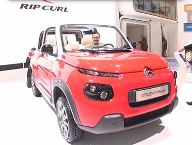 El Citroën E-Mehari, en vídeo