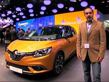Vídeo presentación del nuevo Renault Scénic en Ginebra 2016