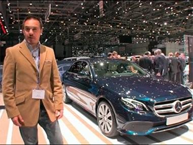 Debut del Mercedes Clase E en el Salón de Ginebra 2016