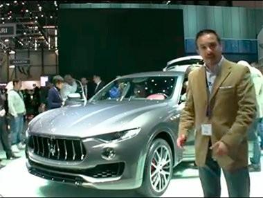 Vídeo presentación del Maserati Levante en Ginebra 2016