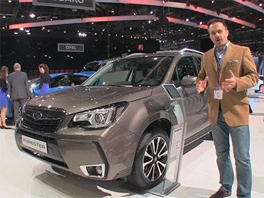 Vídeo debut del Subaru Forester en Ginebra 2016