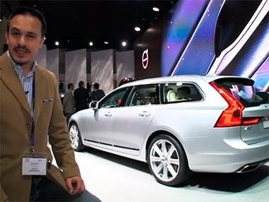 Vídeo del debut del Volvo V90 en el Salón de Ginebra 2016