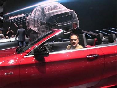 Debut del Mercedes Clase C Cabrio en el Salón de Ginebra 2016