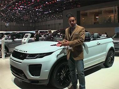 El Range Rover Evoque Cabrio en Ginebra 2016