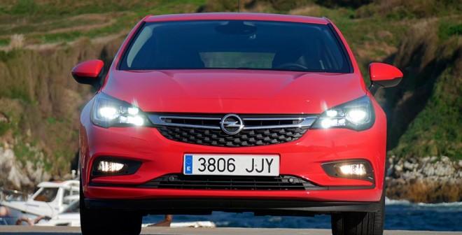Prueba del Opel Astra 1.4 Turbo 150 CV 2015