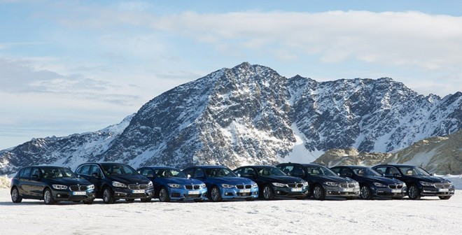 30 años de tracción total BMW gama