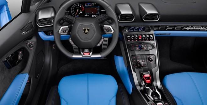 Lamborghini Huracan LP610-4 Spyder 2017 Salón de Pekín 2016