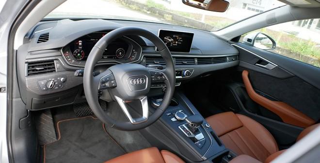Prueba nuevo Audi A4 2.0 TDi 190 CV 2016 puesto de mando