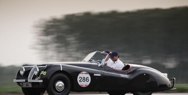 Qué significa el logo de Jaguar XK 120