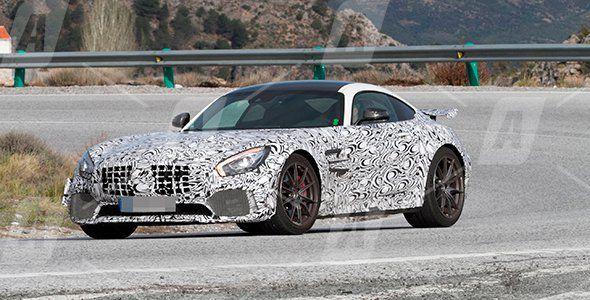 Vídeo espía del Mercedes AMG GT R