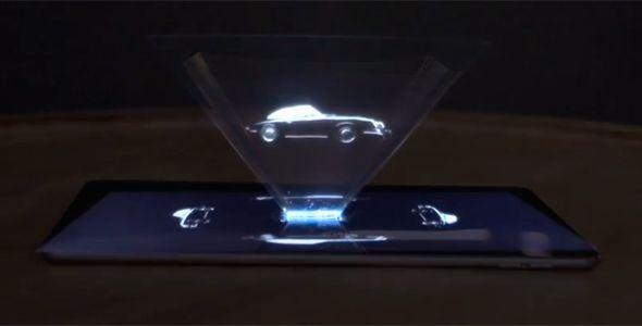 Un holograma del 911, la nueva publicidad de Porsche