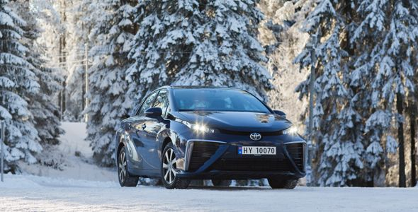 El Toyota Mirai no se comercializará en España de momento