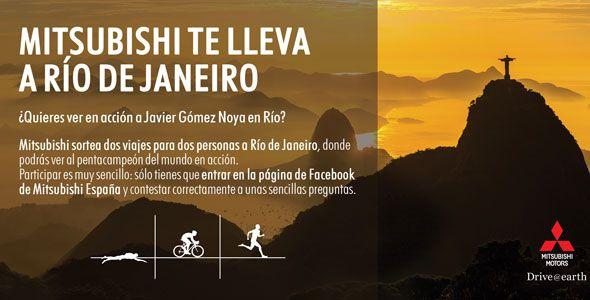 El concurso de Mitsubishi para ir a Río de Janeiro