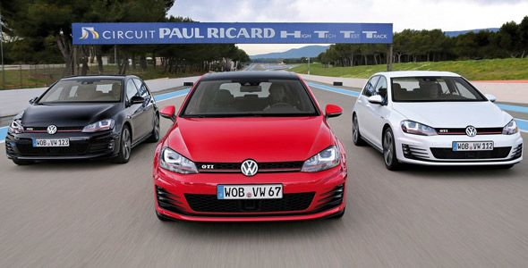 El Volkswagen Golf GTI celebra su 40ª aniversario en la Techno Classica