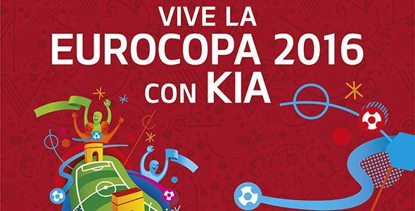 Vive con Kia el partido entre España y Turquía en la Eurocopa 2016