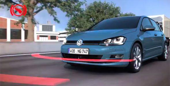 Cómo funciona el sistema 'Front Assist' de Volkswagen