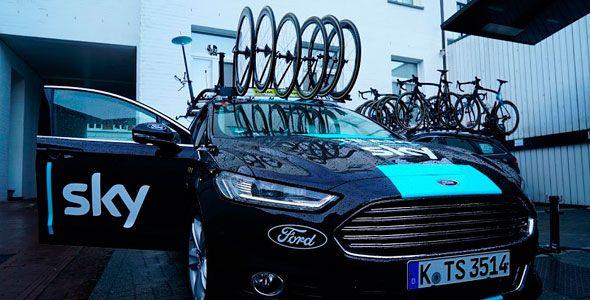 El Ford Mondeo preparado para 'El Infierno del Norte'