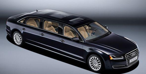 Audi A8 L extended: un espectacular vehículo de representación por encargo