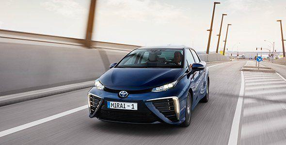 El Toyota Mirai en el Congreso Mundial del Hidrógeno de Zaragoza