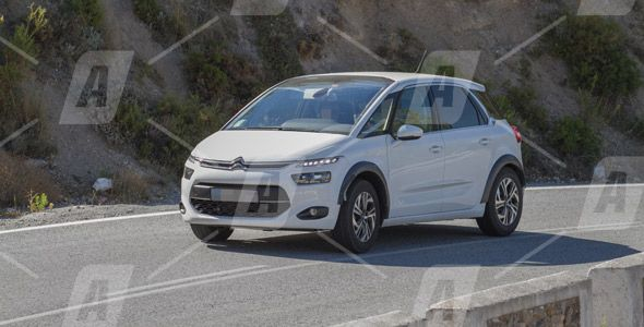 Fotos espía del nuevo Citroën C4 Aircross