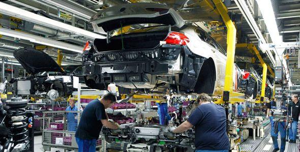 Cómo se fabrica un coche, en cuatro pasos