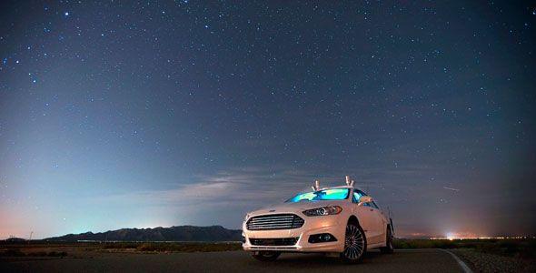Así ven los coches autónomos de Ford en la oscuridad