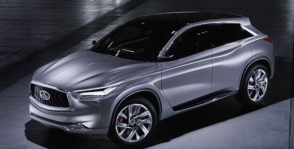 Infiniti QX Sport Inspiration: un diseño que marcará el camino de la gama SUV