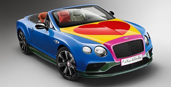 Sir Peter Blake diseña un Bentley Continental GT V8 S Cabrio único