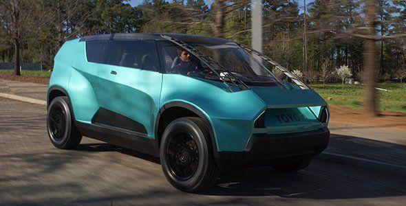 """Toyota uBox: el coche de la """"Generación Z"""""""