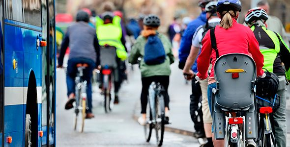 La bicicleta como alternativa para ir al trabajo