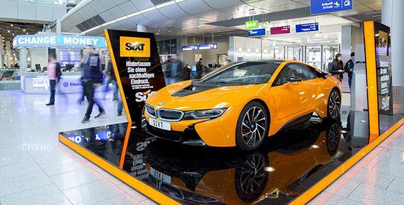 Sixt incorpora al BMW i8 dentro de su flota
