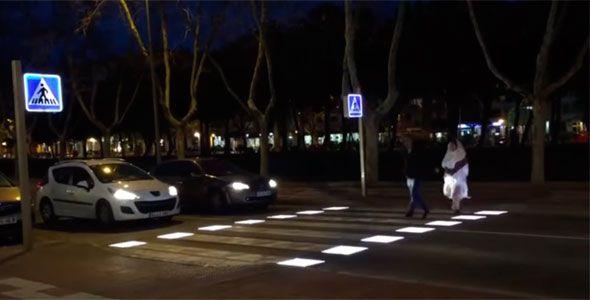 Los pasos de cebra inteligentes llegan a España