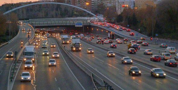 El Ayuntamiento bajará a 70 km/h la velocidad máxima en la M-30